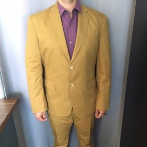 Other - Two-Piece Men's Brown Suit